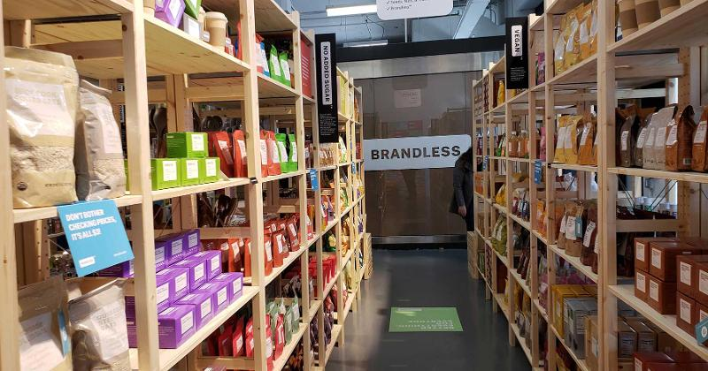 Brandless Pops Up In NYC