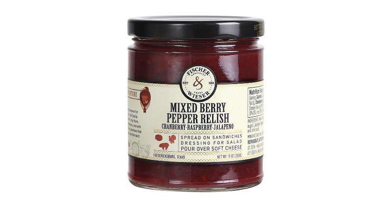 Fischer & Weiser mixed berry pepper relish
