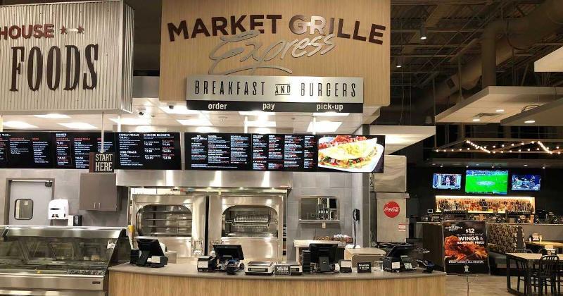 hy-vee market grill