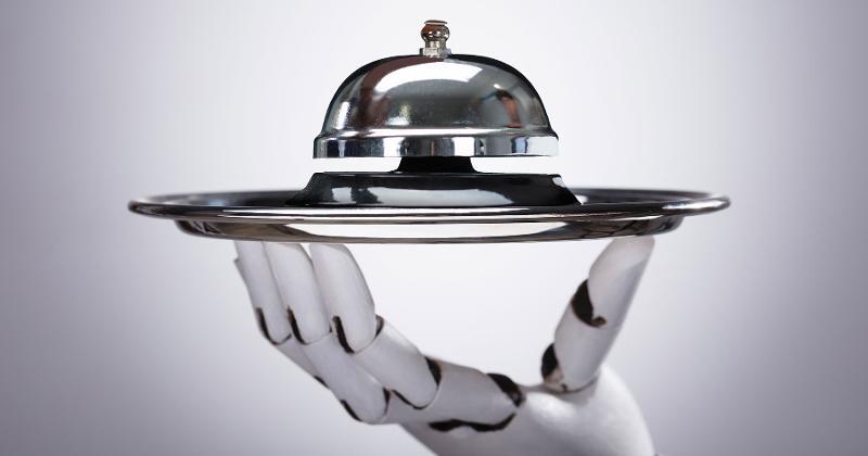 robot restaurant server