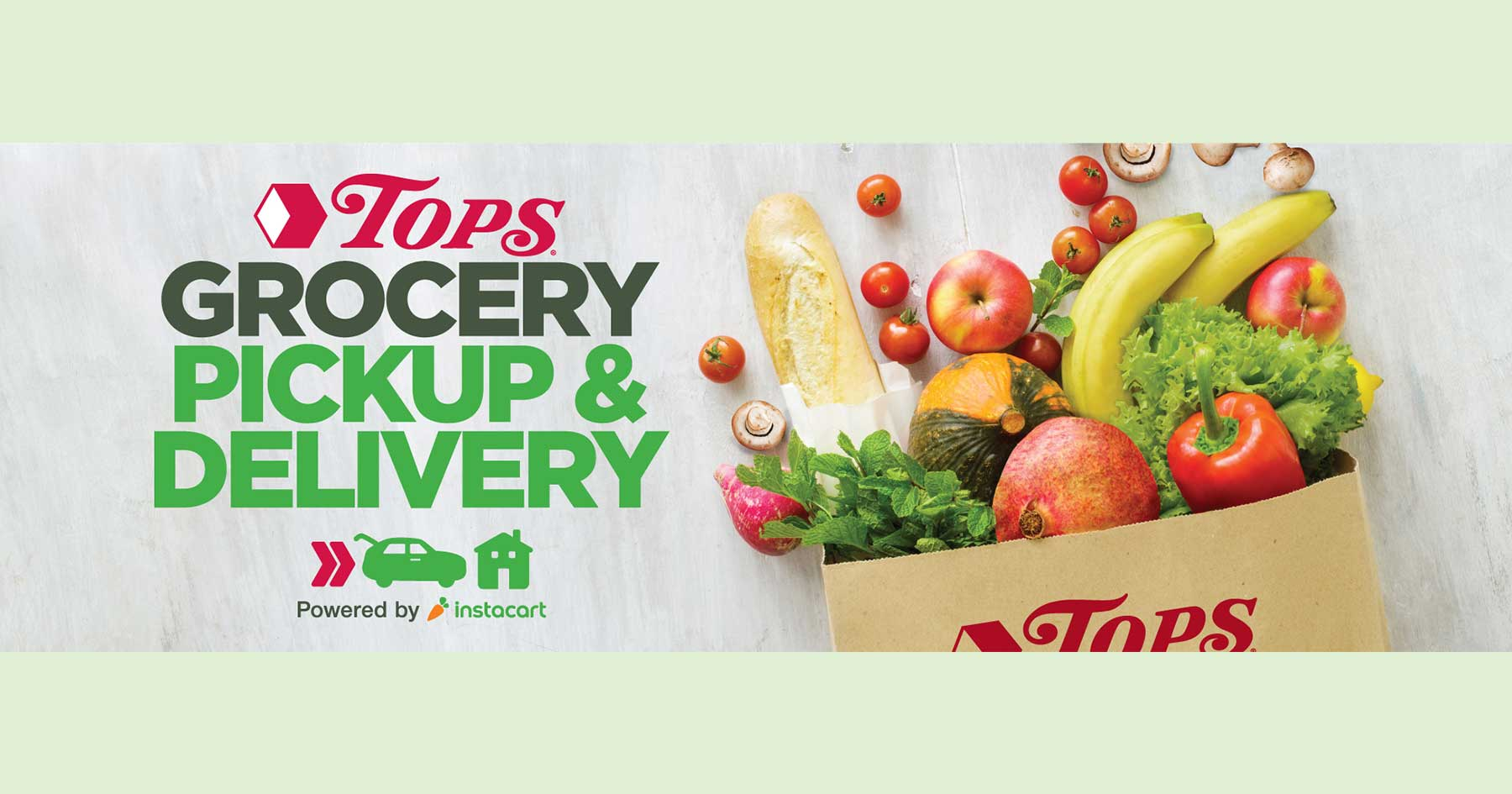 Tops Launches Grocery Pickup Via Instacart