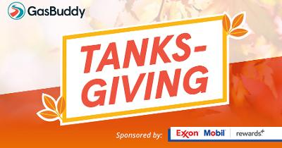 ExxonMobil and GasBuddy Plan Thanksgiving Fuel Giveaway