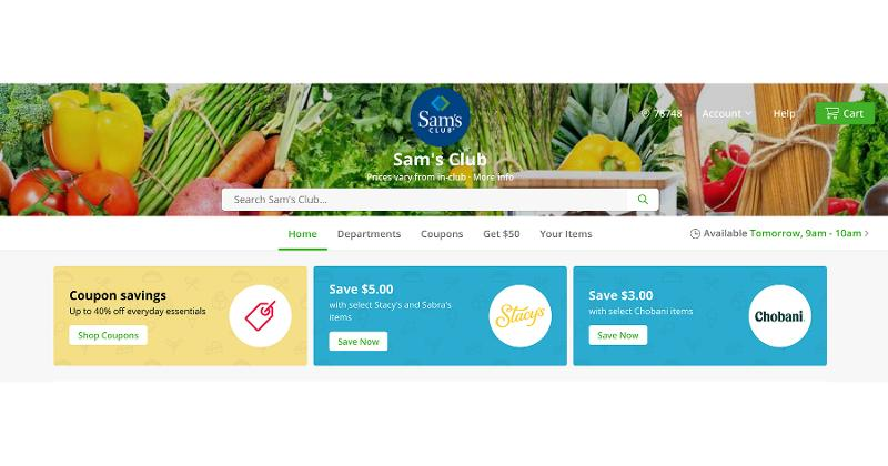 sams club website