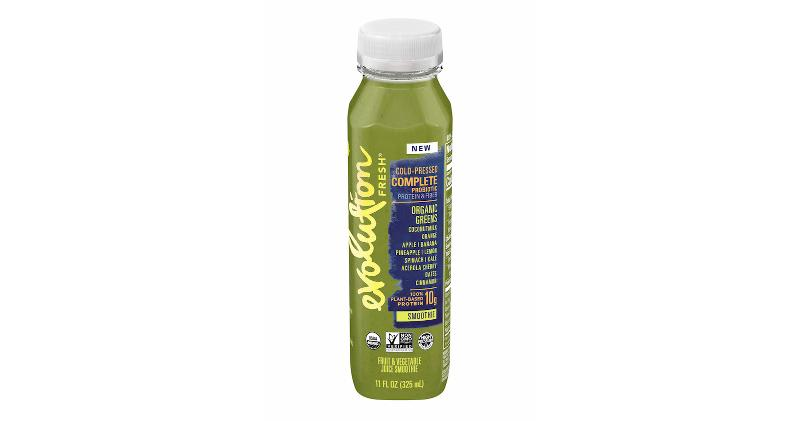 Evolution Fresh's Organic Greens Probiotic Smoothie