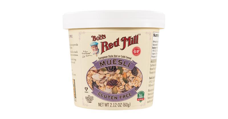 Bob's Red Mill's Muesli Cups