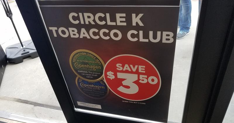 circle k tobacco club