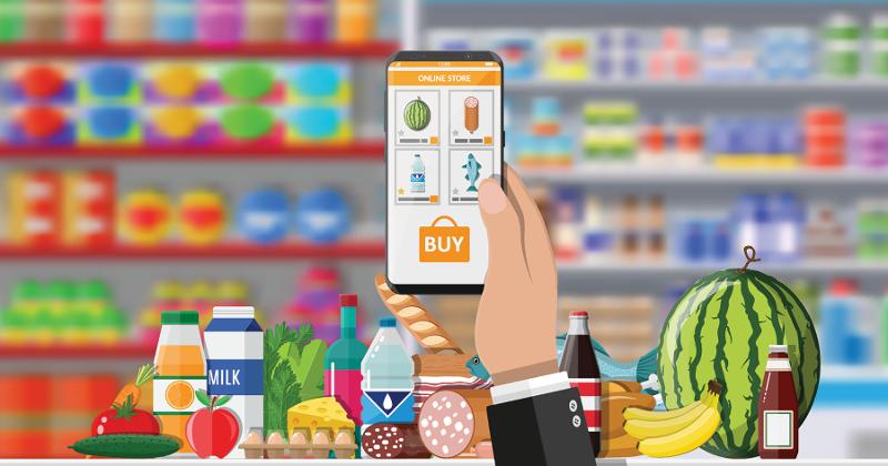 mobile app groceries