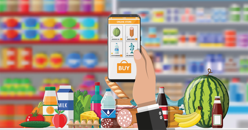 mobile app groceries
