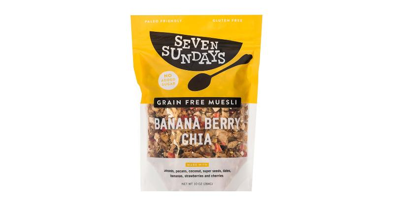 Seven Sundays Banana Berry Chia Muesli