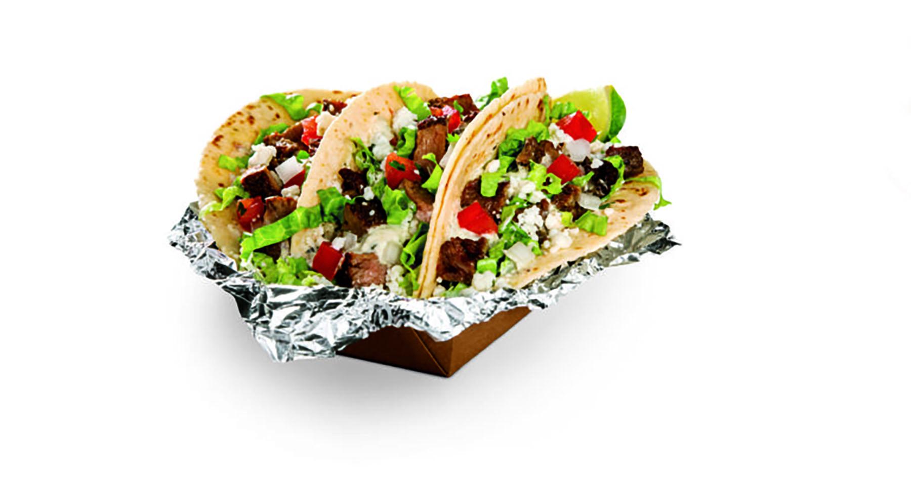 Sirloin Steak Street Tacos