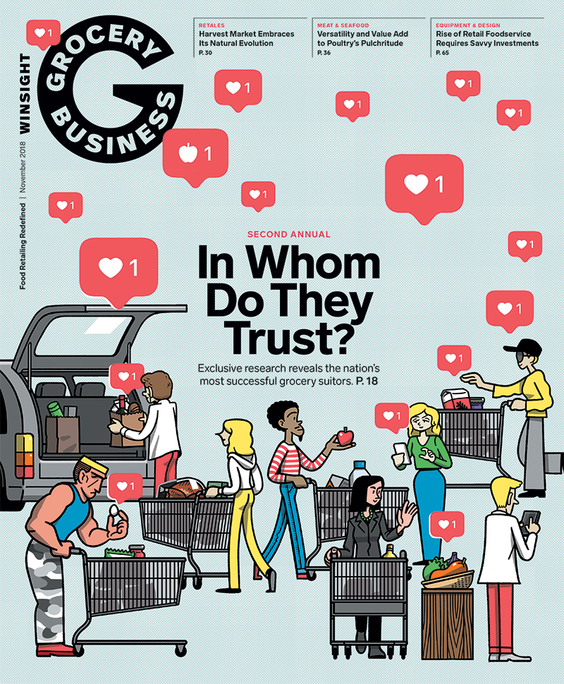 Winsight Grocery Business November 2018 cover image