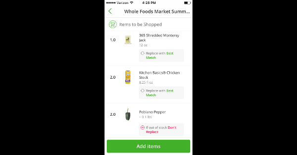 Here's What It's Like to Order Groceries From Instacart