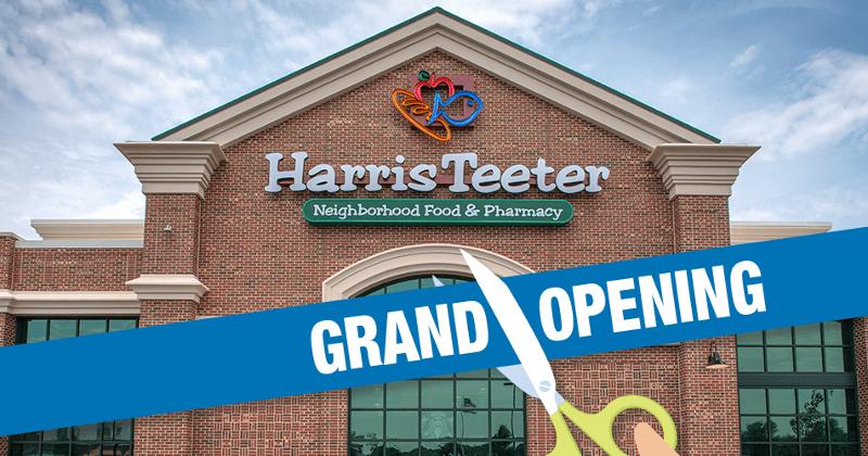 Harris Teeter grand opening