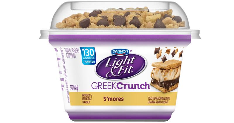 danone light and fit yogurt