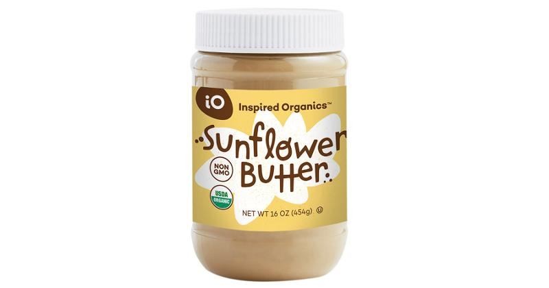 inspired organics sunflower butter