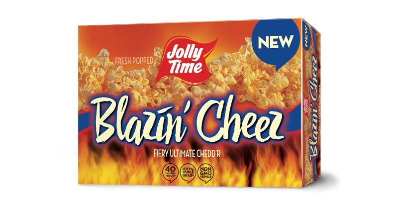 Jolly Time Blazin' Cheez Popcorn