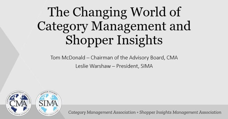 the changing world of category management and shopper insights
