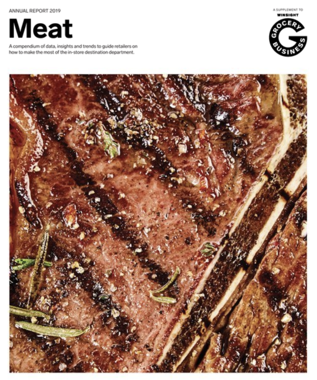 Winsight Grocery Business Magazine Meat Handbook 2019 Issue