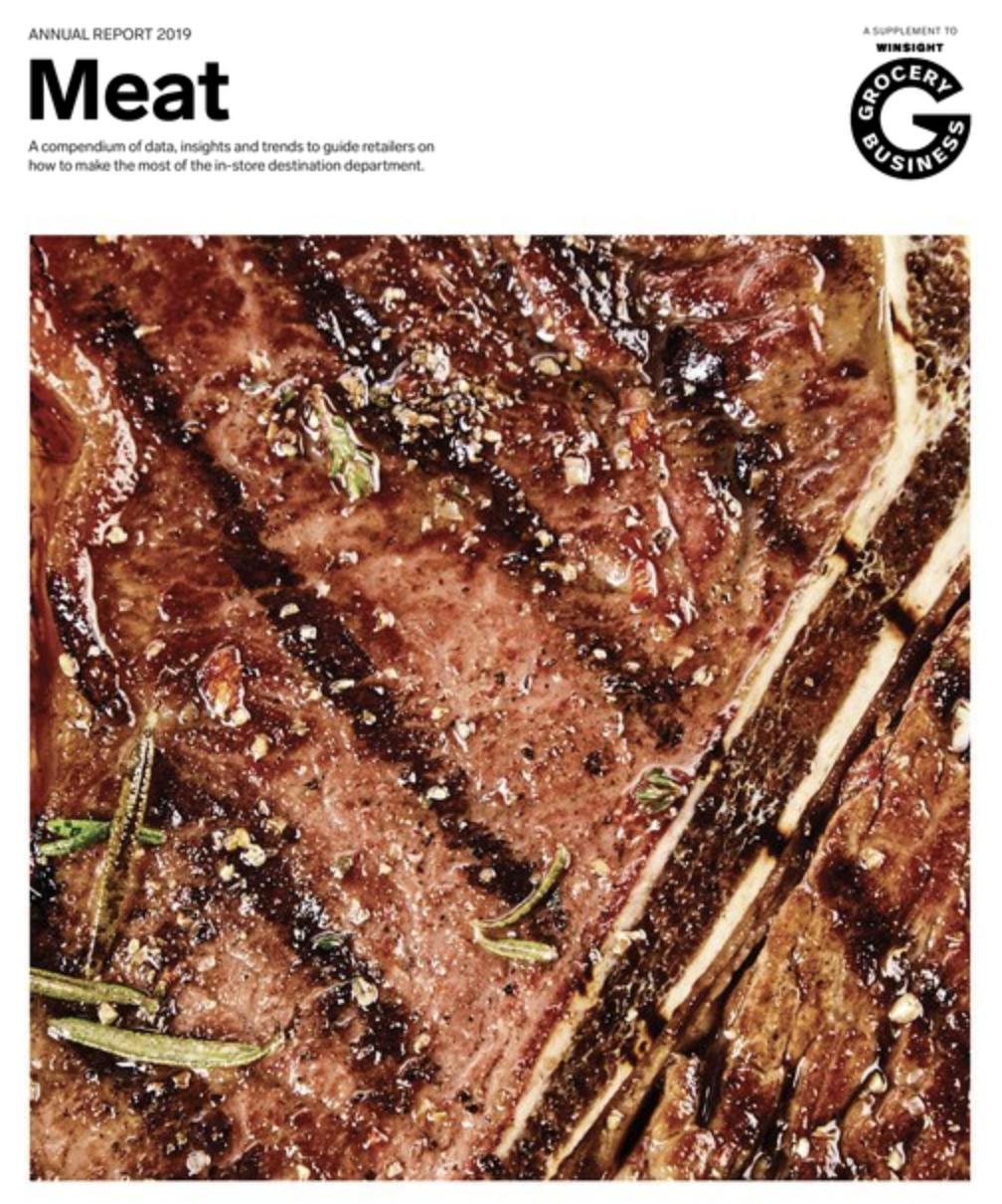 Winsight Grocery Business Magazine Meat Handbook 2019 Issue