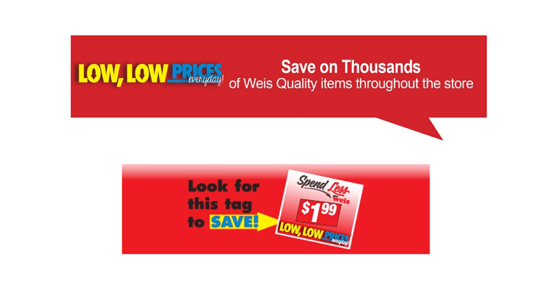 More ways to save at Weis Markets