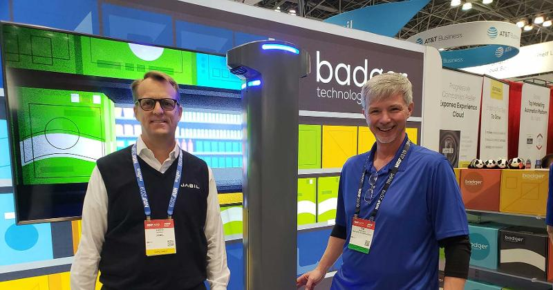 Frederic McCoy Jabil Tim Rowland Badger Technologies