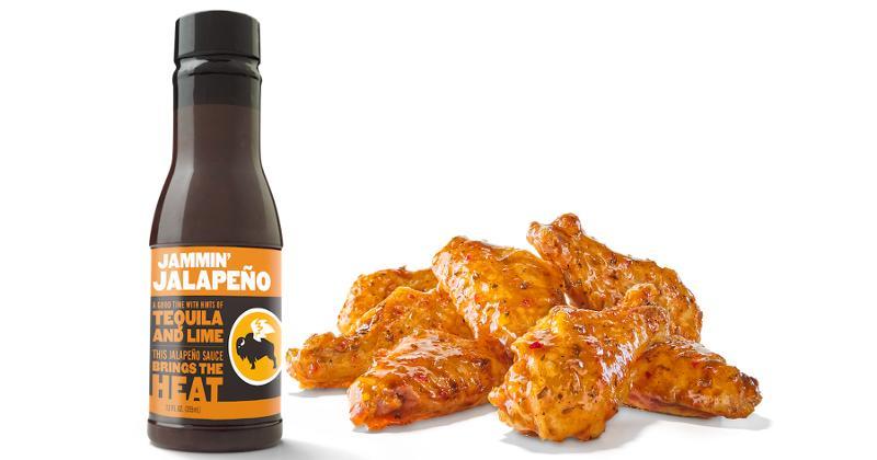 buffalo wild wings jamming jalapeno sauce
