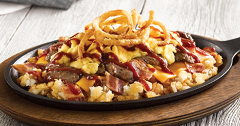 steak and cheese skillet