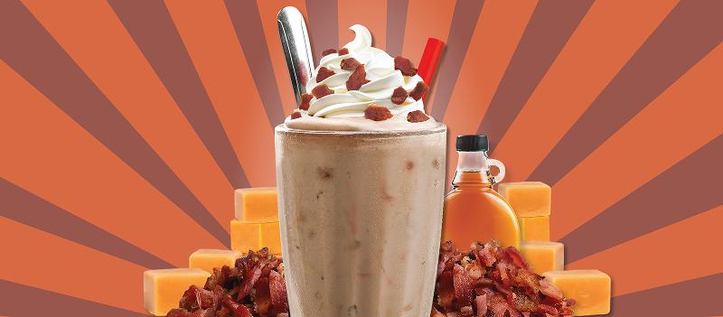 maple bacon shake