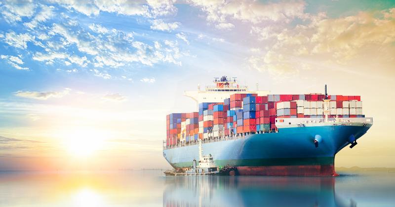 shipping bardge