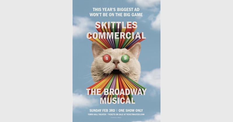 skittles broadway musical