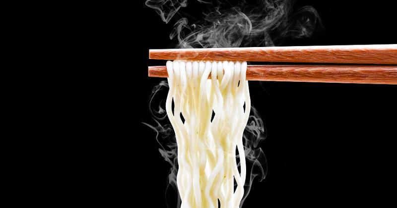 steaming ramen