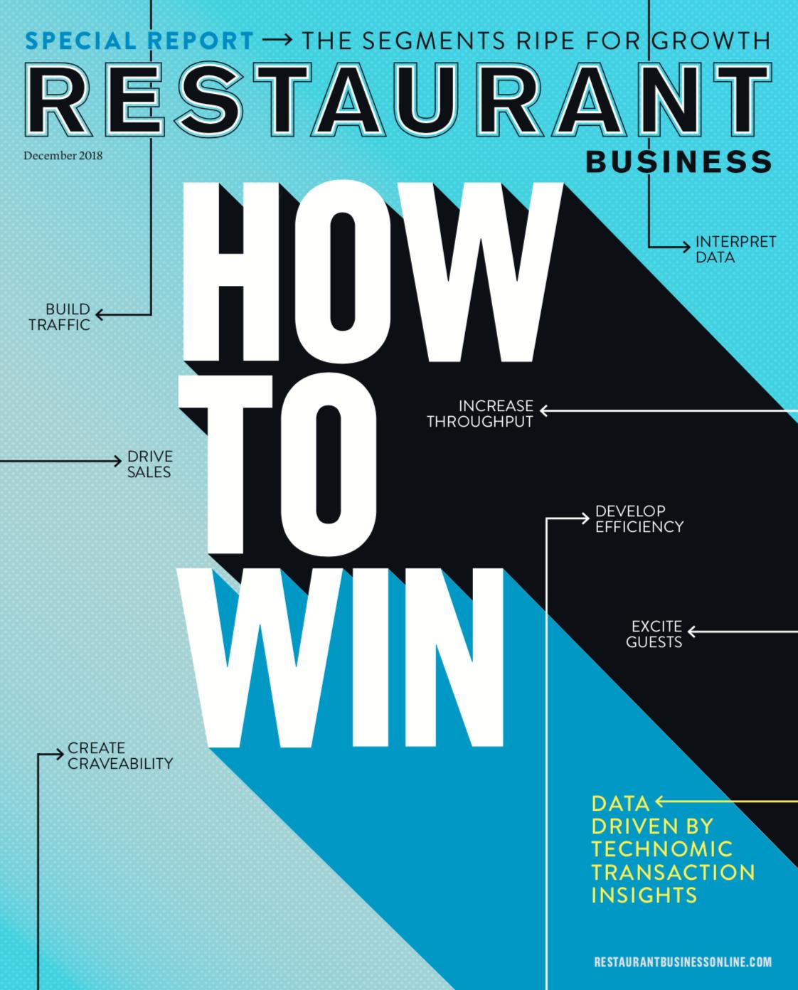 Restaurant Business Magazine December 2018 Issue