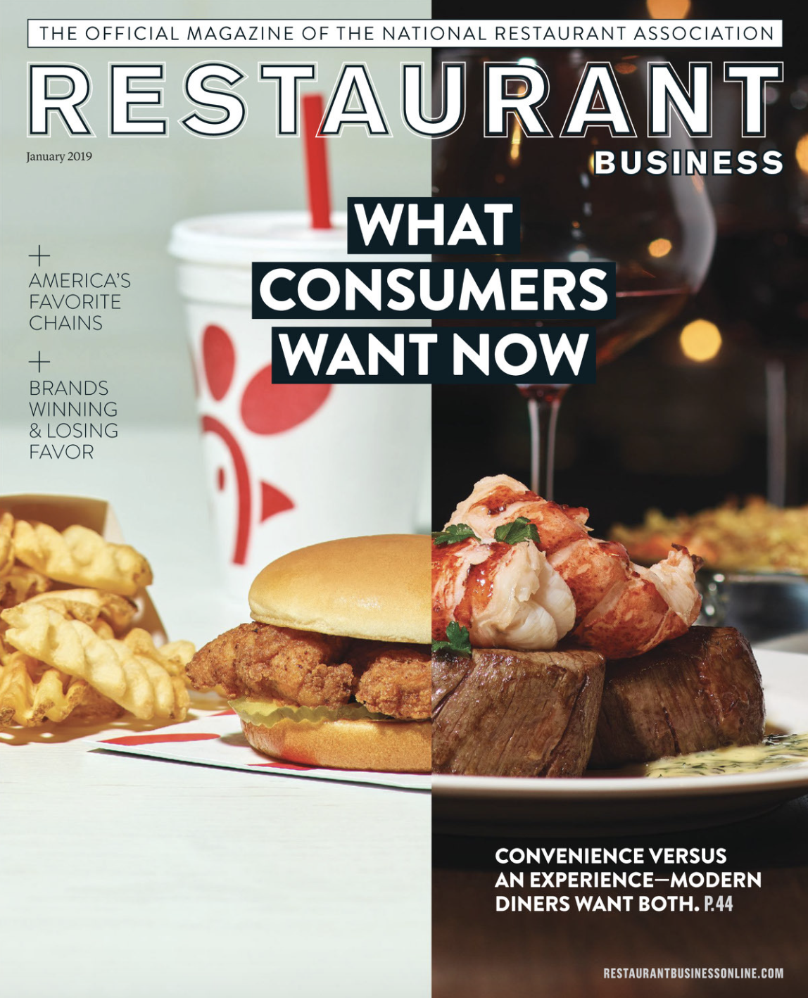 Restaurant Business Magazine January 2019 Issue