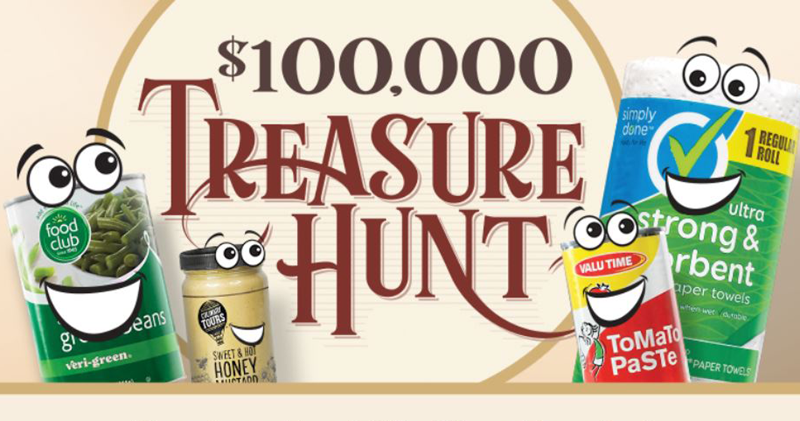 Treasure hunt promo