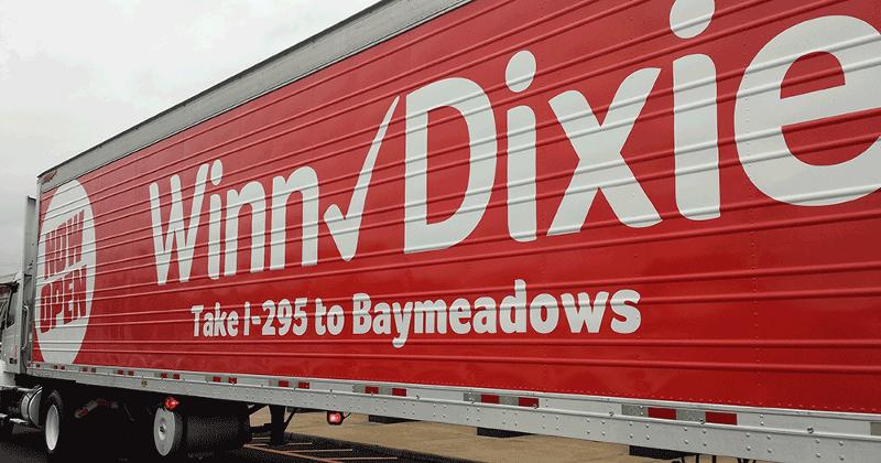 Winn-Dixie truck