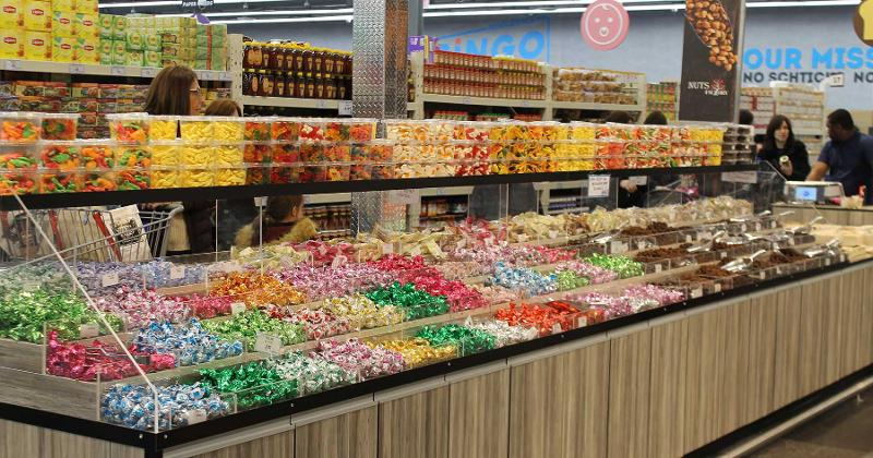 bingo candy bin