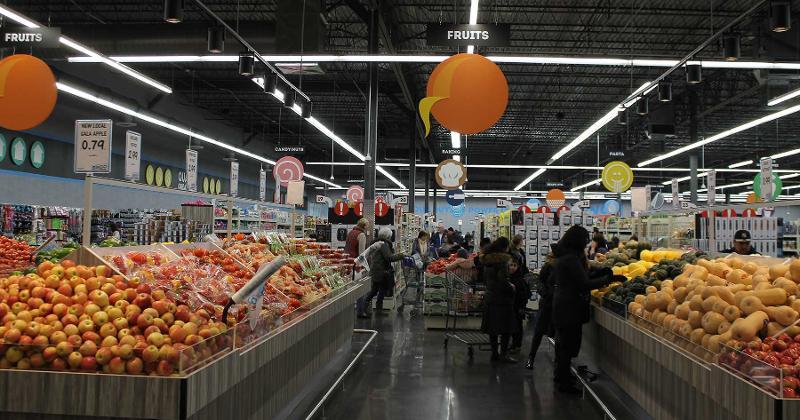 bingo produce aisle
