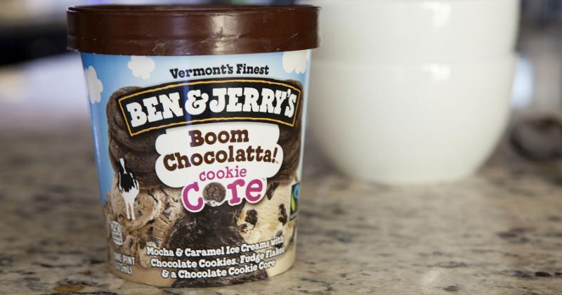 ben&jerrys boom chocolatta cookie core