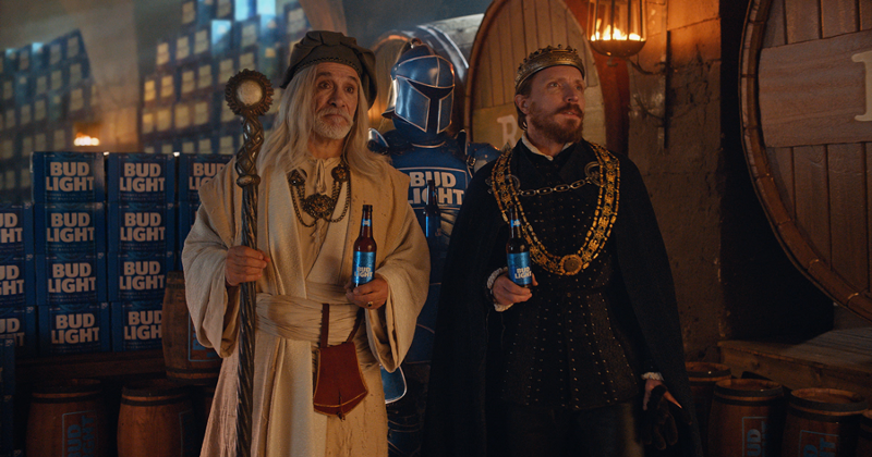 bud light knight