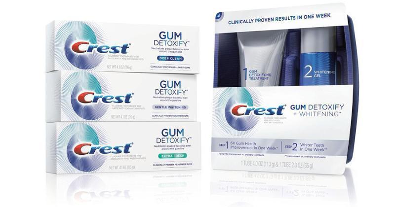 crest gum detoxify toothpaste