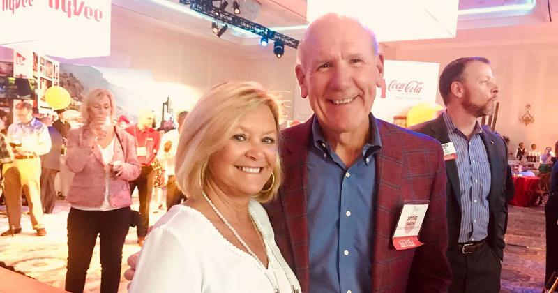 K-VA-T's Steve and Debbie Smith