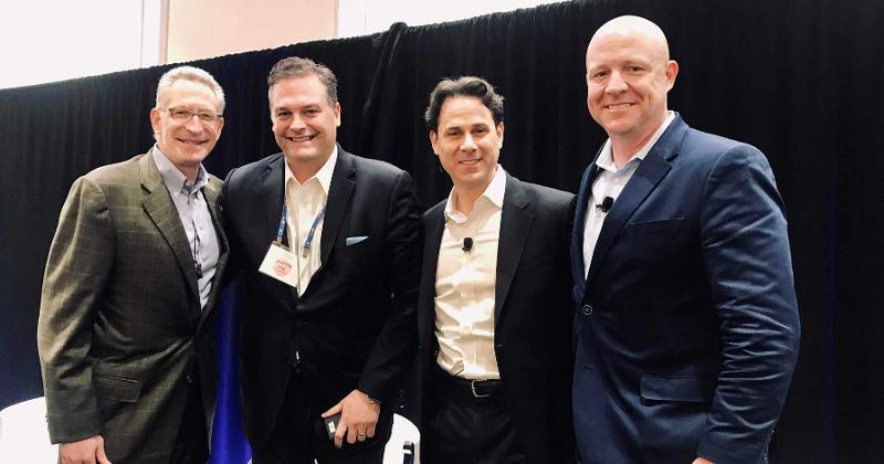 Mark Baum, Justin Dye, Tom Furphy and Scott Moses