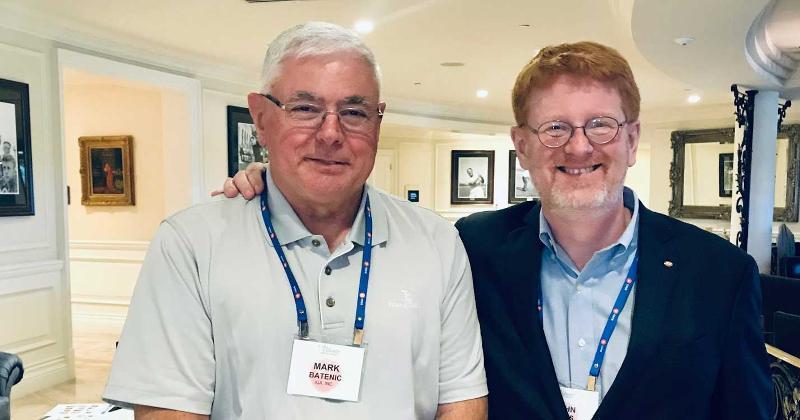 IGA's John Ross and Mark Batenic