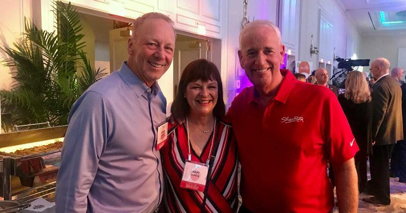 Joe Sheridan, Wakefern Food Corp. and Dave and Mari Jones, Kellogg Co.