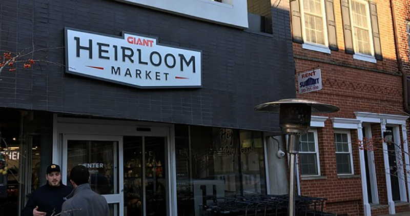 Giant Heirloom Market storefront