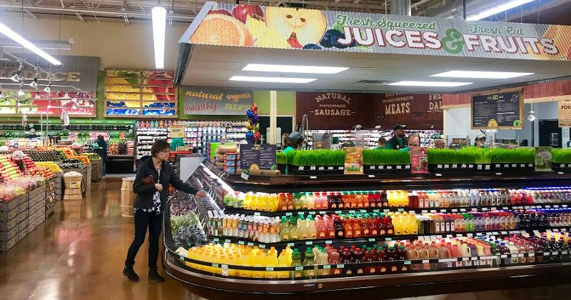 juice display