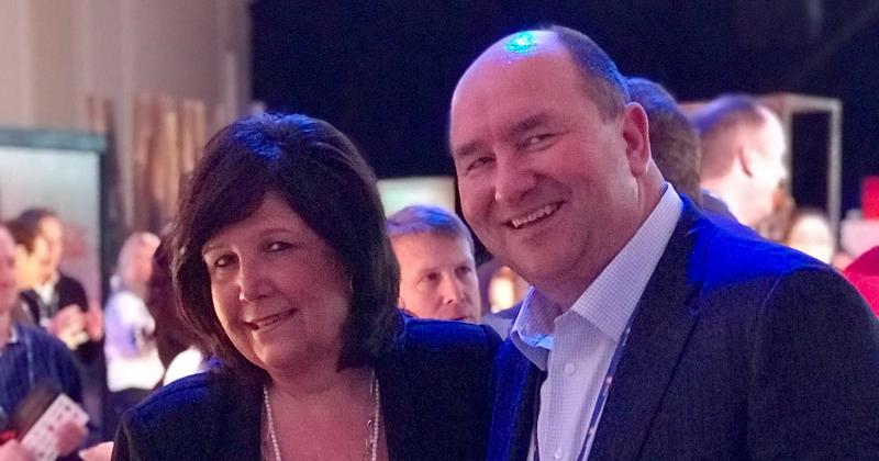 Donna Tweeten and Randy Edeker, Hy-Vee