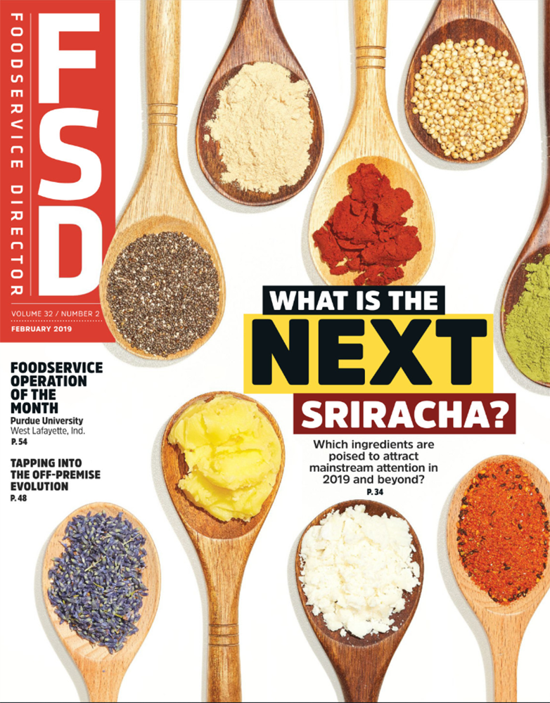 February Edition Foodservice Director
