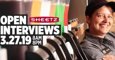 Sheetz to Hire 2,500 Employees Companywide