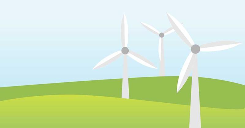 Windmills graphic